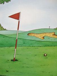 『ゴルフの本』表紙