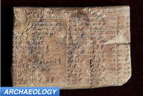 Babylon archaeology trigonometry tablet