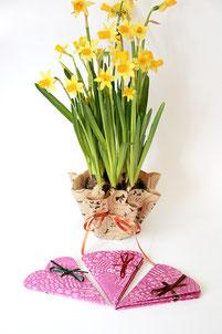 Blumenmanschetten