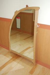 木製 鏡 姿見