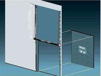 Vertikalumlenkung T500hf Sektionaltor