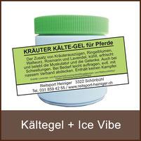 Reitsport Heiniger Schönbühl - Linkfoto Kältegel + Ice Vibe