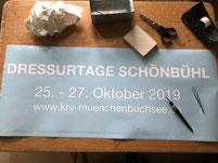 Druckatelier46 Mülchi - Autobeschriftung Dressurtage Schönbühl 2019