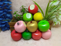 Apples Bite PU Squishy Slow Rising Toys
