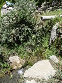 Dusche in Tadschikistan