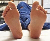 アロマリンパマッサージ下半身足裏の結果