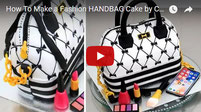 handbag cake, fashion cake, purse cake, makeup cake, make up cake,