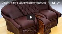 chocolate, sofa cake, amazing cakes, chocolate cake,