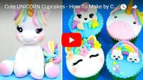 unicorn cupcakes how to