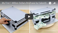 Million Dollars Briefcase Cake