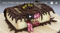 Harry Potter's Monster Book Of Monsters Cake