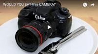 camera cake, amazing cakes, cool cakes,