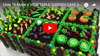 cake, cakes, vegetable garden cake, garden cake, cake videos, cake decorating, chocolate, vegetables cakes,