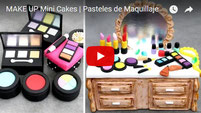 makeup cakes, mini cakes, make up cake, make up cakes, fashion cakes,