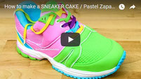 shoe cake, sneaker cake, pastel zapatilla, cake decorating, amazing cakes,