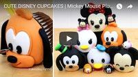 tsum tsum, disney cupcakes, cupcakes,