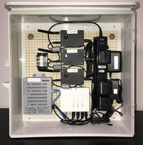 キット製作例(SA-M03台、ルーター、ハブ)