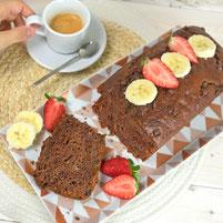 Schoko Bananen Cake