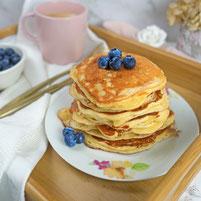 Apfel Quark Pancakes