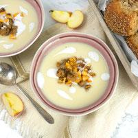 Apfel Sellerie Suppe