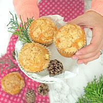 Apfel Zimt Streusel Muffins