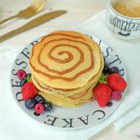 Zimt Swirl Pancakes