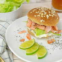Pulled Lachs Burger