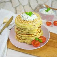 Schinken Pancakes