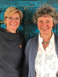 Anett Große und Silvia Mader