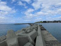 サヨリの釣り場 下関市