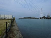 サヨリの釣り場 豊前市・吉富町