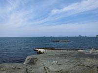 ショアジギングの釣り場 萩市