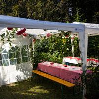Grillfest Fest Sommer Grillen Verein Garten Theater