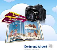 Dortmund Airport Facebook Gewinnspiel  Adressgenerierung