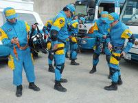 石川県警広域救助隊
