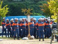 石川県内の消防団活動服