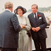 Queen Beatrix and Prince Claus - 1982 visit