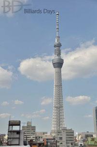 錦糸町「ルパン」の屋上から。初めて完成した姿を見ました
