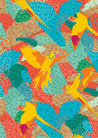 Mariery Young - Tangerine Parrots