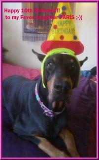 Paris on her 10th birthday!
