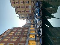 schöner Gondel-Parkplatz