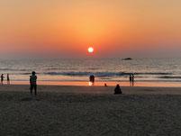 täglich sensationelle Sunsets