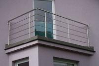 Poręcz nierdzewna balkonowa
