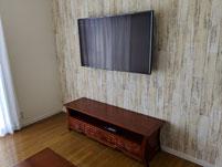 テレビ設置
