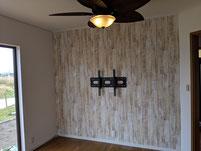 壁掛けテレビ金具設置