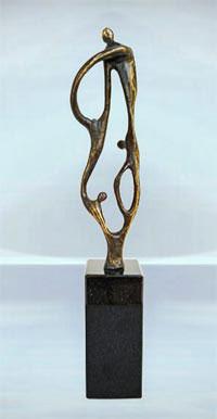 Skulptur Business