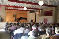 concert Moncigoux Amis orgue Nontron