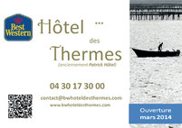 hotel des thermes best western Balaruc les bains