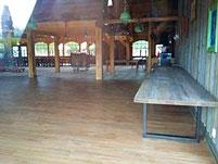 2017 uitbreiding van de 'Sitting Bull Saloon' (Achterzijde)