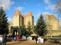Noël à la cité de Carcassonne